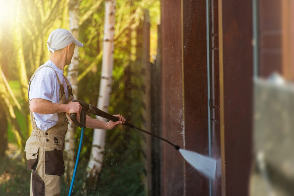 Benefits of pressure washing our home